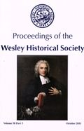 The Proceedings of the Wesley Historical Society